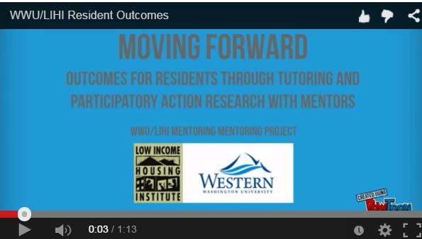 Screencast – LIHI/WWU Mentoring Project