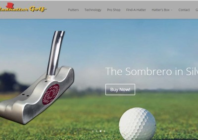 Madhatter Golf Website