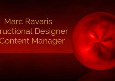 Marc Ravaris – Portfolio Website, Primary Tool, WordPress